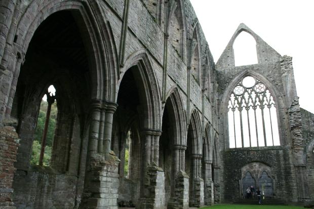 Tintern Abbey - inside JLutwyche
