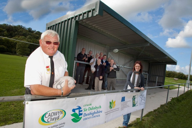 DENBIGH RUGBY CLUB, RUGBY UNION, RUGBY, DENBIGH RFC, DENBIGH, WALES, NORTH WALES, FACILITIES, STAND