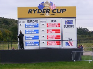 Ryder Cup 2010, Ryder Cup, Celtic Manor, Golf, Newport