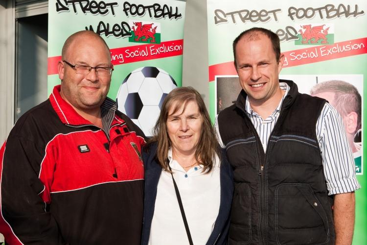 Street football wales, social exclusion, football, wales,