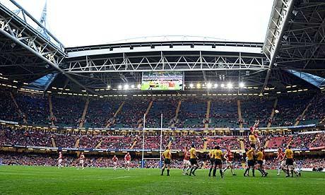 Millennium Stadium, Cardiff, Wales, rugby, rugby union, autumn, internationals, Millennium, stadium