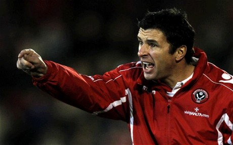 Gary Speed, Wales, manager, Sheffield United, Sheffield, football