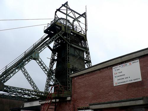 Coal mining in Wales