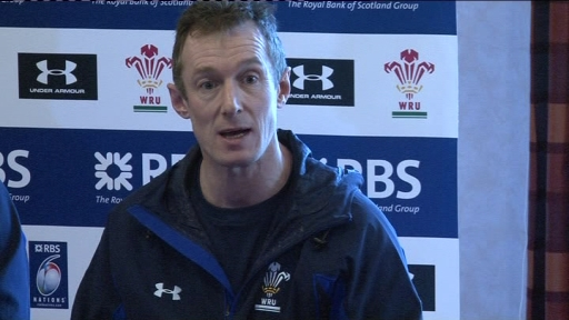 Rob Howley, Wales, James Hook, rugby union, Six Nations