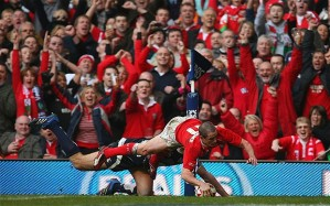 Shane Williams, Wales, Italy, Six Nations, rugby, rugby union,